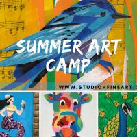 Summer Art Camp (Week 5)