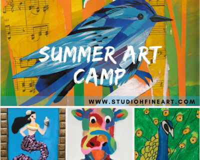 Summer Art Camp (Week 5)