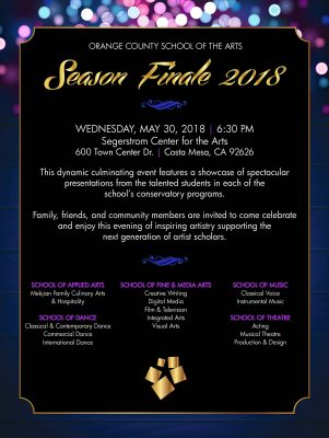 Orange County School of the Arts Season Finale