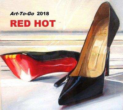 Art-To-Go is RED HOT, June 7 Reception, Art Walk