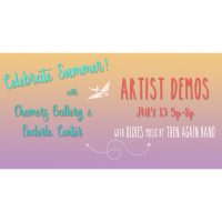 Artist Demos with 15 Local Artists, plus Oldies Music by Then Again Band!