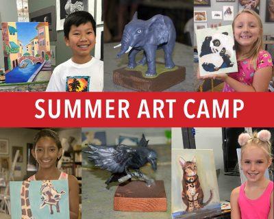 Summer Art Camp, week 9