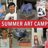Summer Art Camp, week 10