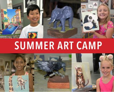 Summer Art Camp, week 10
