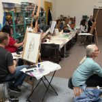 Instructed Live Figure Drawing Class