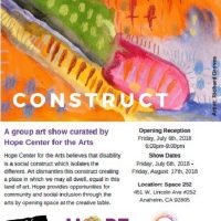 'Construct' an Outsider Arts Exhibition