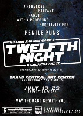 Twelfth Night--a galacitic farce