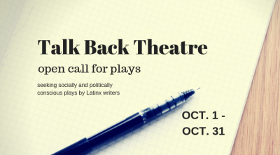 Call for Plays by Latinx Writers