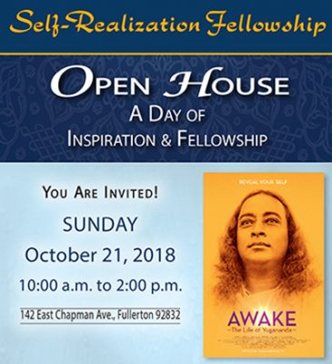 Self-Realization Fellowship Fullerton Temple Open ...