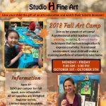Fall Art Camp