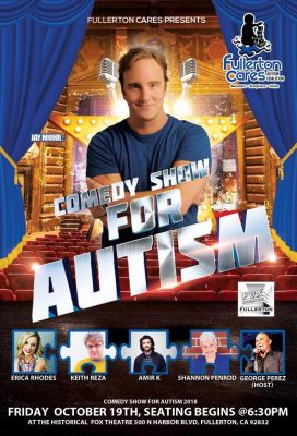 Comedy Show for Autism 2018