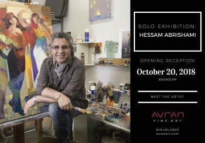 Solo Exhibition: Hessam Abrishami