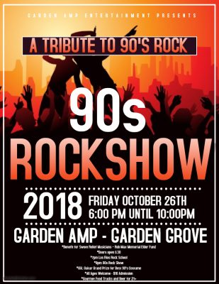 The 90's ROCK SHOW - benefit for Sweet Relief Musi...