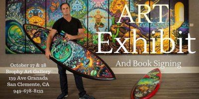 Drew Brophy Retrospective Art Exhibit and Book Rel...