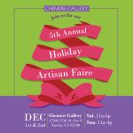 5th Annual Holiday Artisan Faire