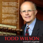 Todd Wilson, Organist