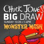 Do the Monster Mash at the Chuck Jones Big Draw Event!