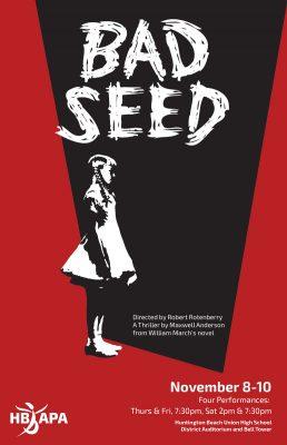 "HBAPA's ""Bad Seed"""