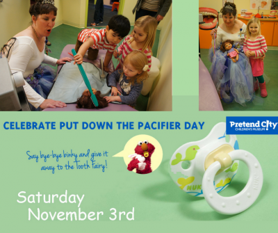 Let's Celebrate Put Down the Pacifier Day!