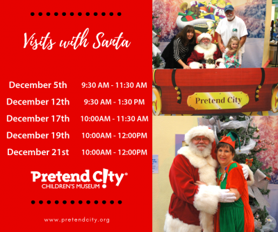 Santa is coming to Pretend City