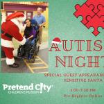 Autism Night Sensitive Santa Visit
