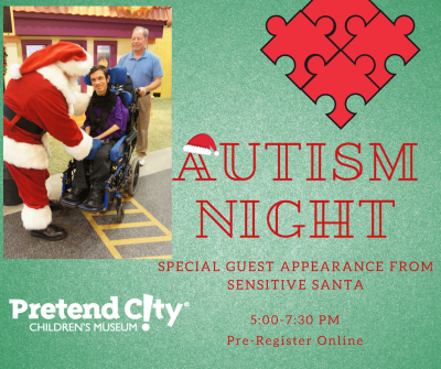 Autism Night Sensitive Santa Visit