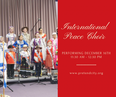 The International Peace Choir Performance