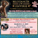 Bellydancer of the Universe Competition and Global Bellydance X-PO