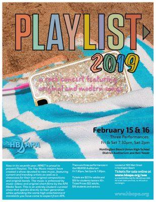 "HB APA's ""Playlist 2019"""