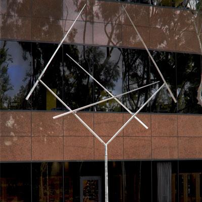Four Lines Oblique Gyratory-Square IV