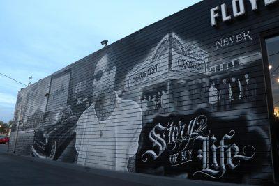 Floyd's 99 Barbershop Mural
