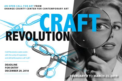 Craft Revolution Open Call for Art