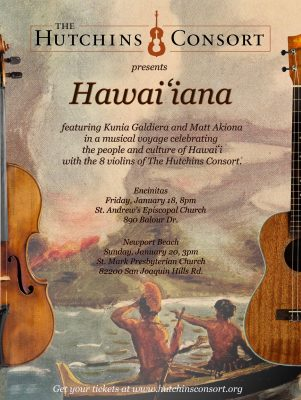 Hutchins Consort presents: Hawaiiana