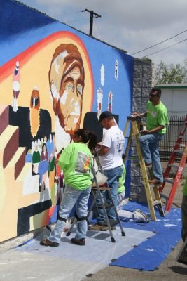 Cesar Chavez Mural