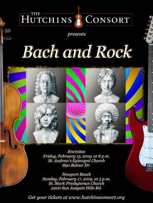 The Hutchins Consort presents: Bach and Rock
