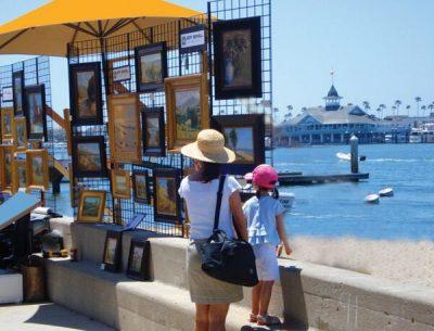 25th Annual Balboa Island Artwalk