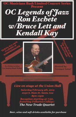 Ron Eschete, Legends of OC Jazz in Concert with Br...