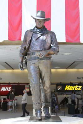The John Wayne Statue