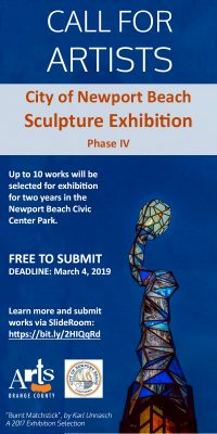 Newport Beach Civic Center Sculpture Exhibition