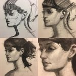 Charcoal Drawing for Portrait Painters