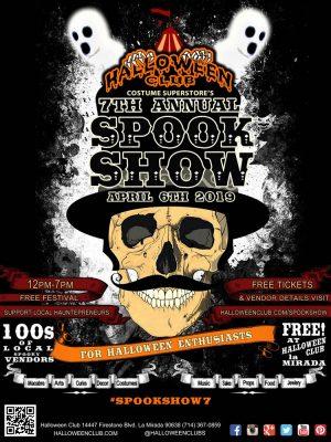 Halloween Club's 7th Annual Spook Show