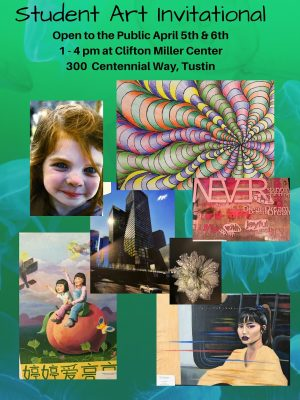Tustin Student Art Invitational by Tustin Area Council for Fine Arts