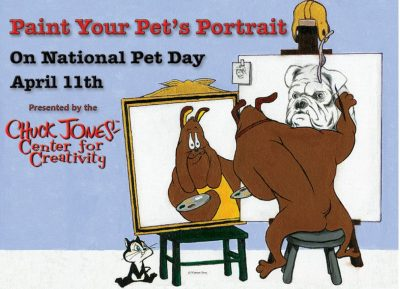 Paint Your Pet for National Pet Day!