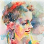 Luminous Faces in Water Color