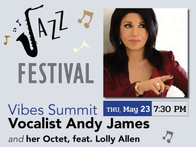 Jazz Fest - Vocalist Andy James and her Octet feat. Lolly Allen