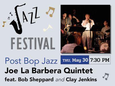 Joe La Barbera Quintet feat. Bob Sheppard & Cl...