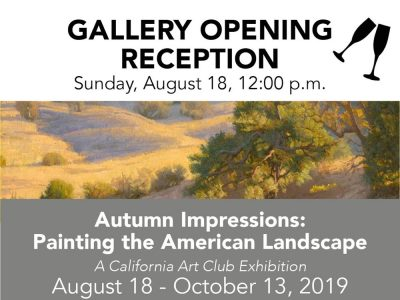 Gallery Opening Reception - Autumn Impressions
