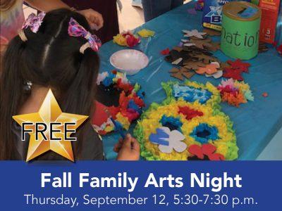 Fall Family Arts Night