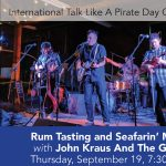 Rum Tasting & Seafarin' Music with John Kraus and The Goers