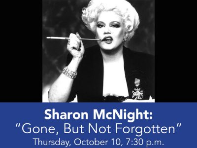 Sharon McNight : Gone, But Not Forgotten